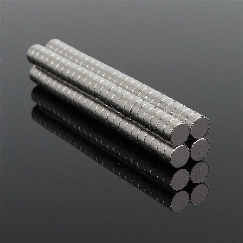 Beste Preis 100 stücke Runde NdFeB Neodym-scheibenmagnete Dia 6mm x 3mm N50 Super Leistungsstarke kühlschrank kunst handwerk Magnet