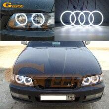 Для Nissan лаурель клуб S C35 1997 1998 1999 2000 2001 2002 ОТЛИЧНОЕ Ультра яркое освещение smd комплект светодиодов «глаза ангела» DRL