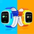 Q90 GPS Relógio Para Crianças Sono Do Bebê Monitor de Tela Sensível Ao Toque Anti Perdido Lembrete Crianças Bebê Inteligente Relógio GPS Criança Rastreamento pulseira