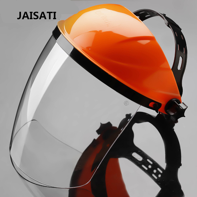 JAISATI protective face screen Insulation temperature welding mask manufacturers Shock protection splash protection welder mask jaisati transparent dust proof welding hood headset mask abor protection protection surface screen splash mask