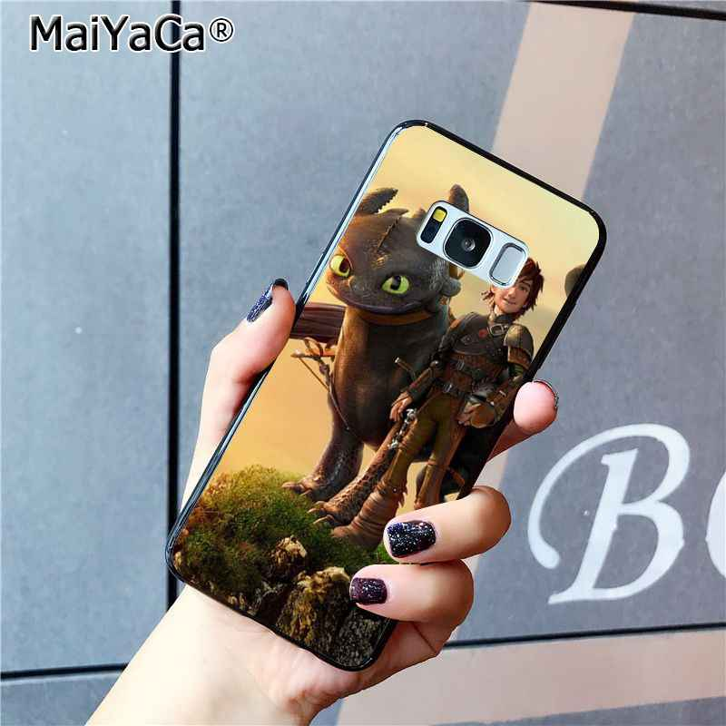 MaiYaCa Krokmou Dragons Coque Coque Téléphone étui pour samsung Galaxy S9 plus S7 bord S6 bord plus S5 S8 plus étui