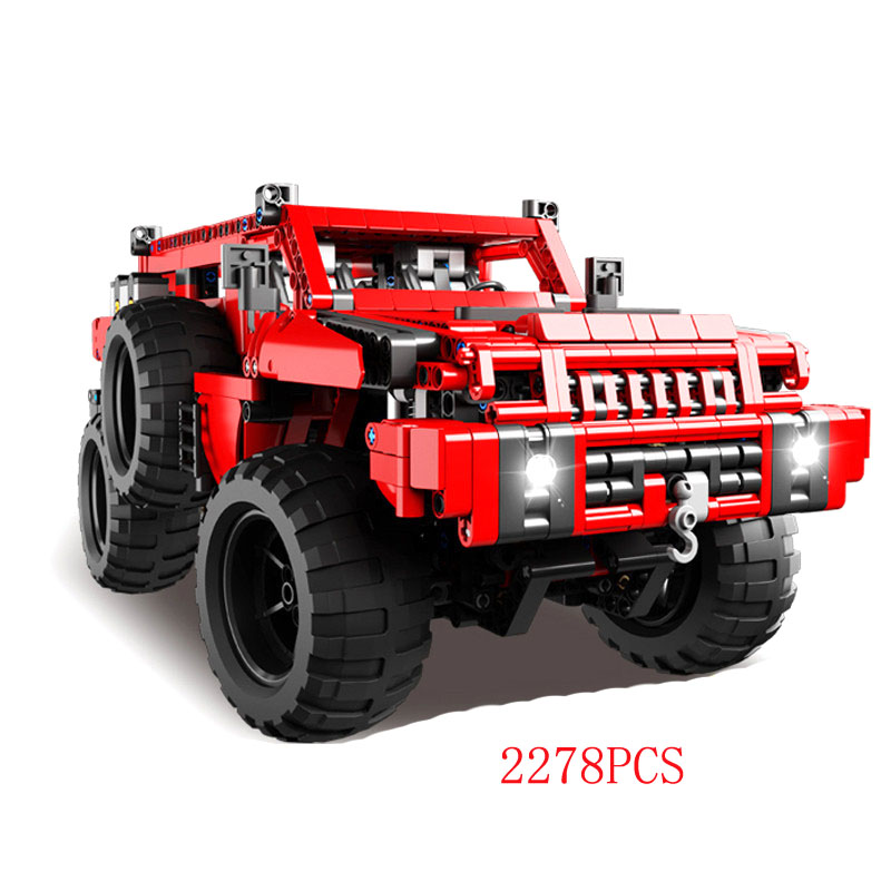 Cross Country 4x4 >> Us 132 48 20 Off 2278pcs Hot Technician Technics 4x4 Radio Remote Control Cars Bricks Red Snow Cross Country 4wd Moc Building Block Rc Toys In