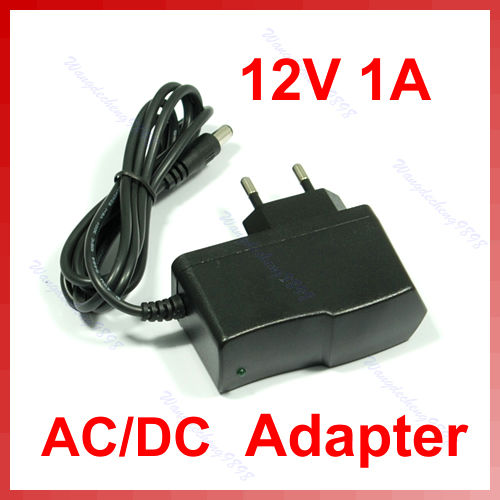 12V 1A AC DC Plugtop Power Adapter Supply 1000mA New