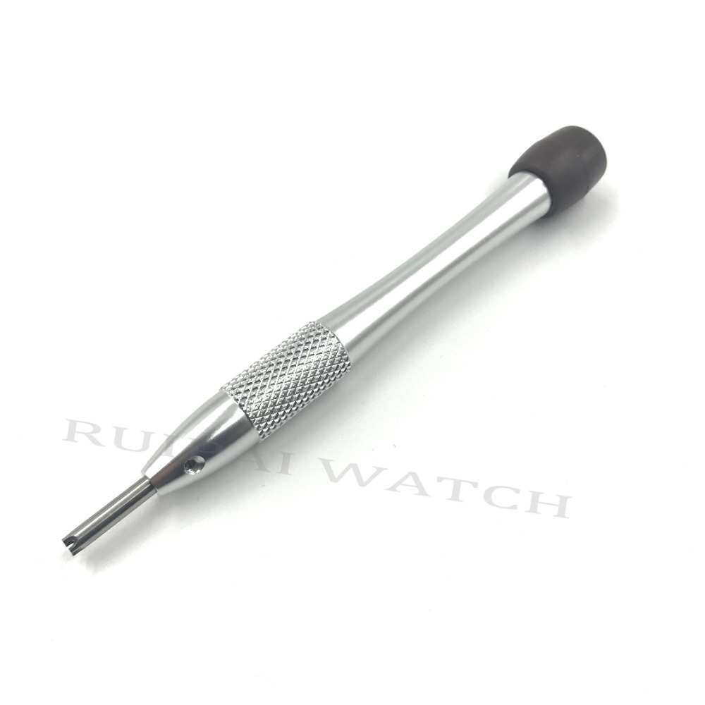 Image 3 - 2.75m 4 prongs Precision AP Screwdriver Blades For AP Royal Oak Offshore Men Watch Case back Screws tools-in Repair Tools & Kits from Watches