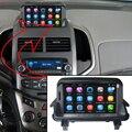 7 дюймов Емкость Сенсорный Экран Автомобиля Медиа-Плеер для Chevrolet Aveo GPS Навигации Bluetooth Видео плеер с Wi-Fi