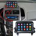 7 inch Capacitance Touch Screen Car Media Player for Chevrolet Aveo GPS Navigation Bluetooth Video player with WiFi