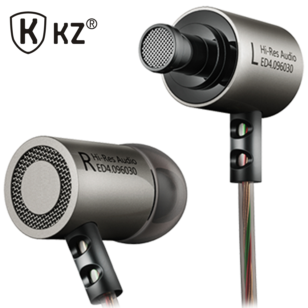 KZ ED4 Earphones DJ MP3 auriculares Metal Stereo Noise Isolating In-ear Earphone Music Auriculares fone de ouvido DJ audifonos doosl metal earphone noise isolating earbuds hifi music in ear wired for iphone ios android cellphones pc fone de ouvido