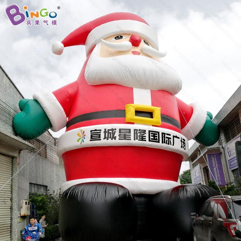 Гигантские надувные Рождество Санта Клауса отец 12 м/39 ног высокие для торговый центр рекламы надувные игрушки