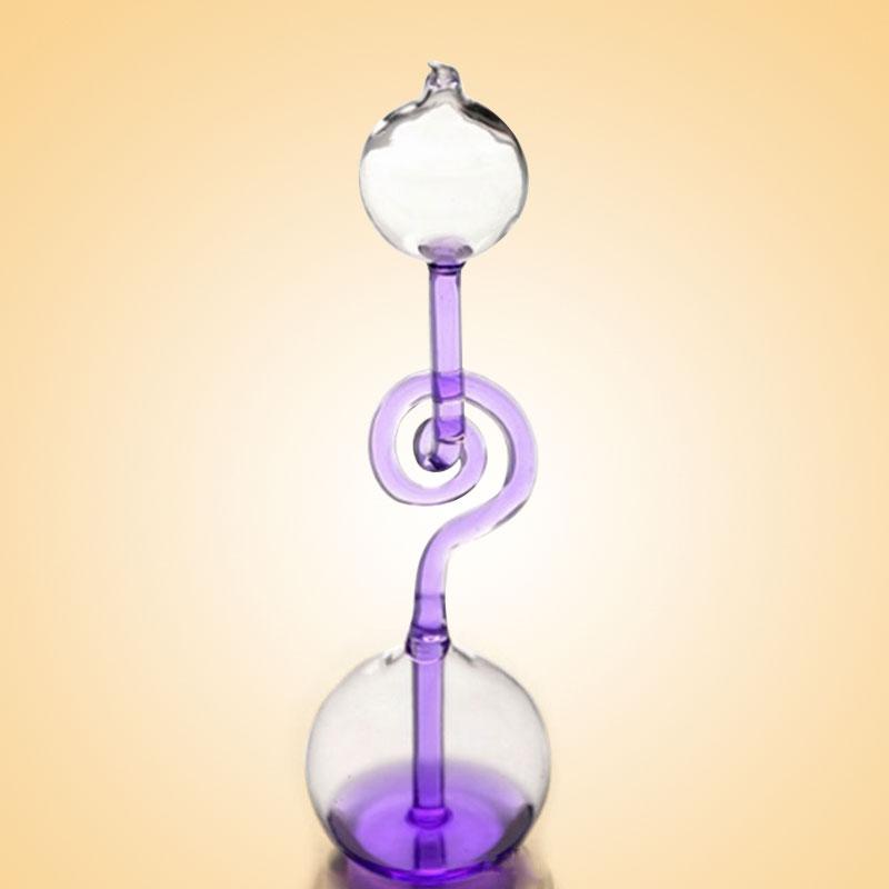 Любовь термометр игрушка метр Ручной бойлер Спираль Стекло наука шалость смешные