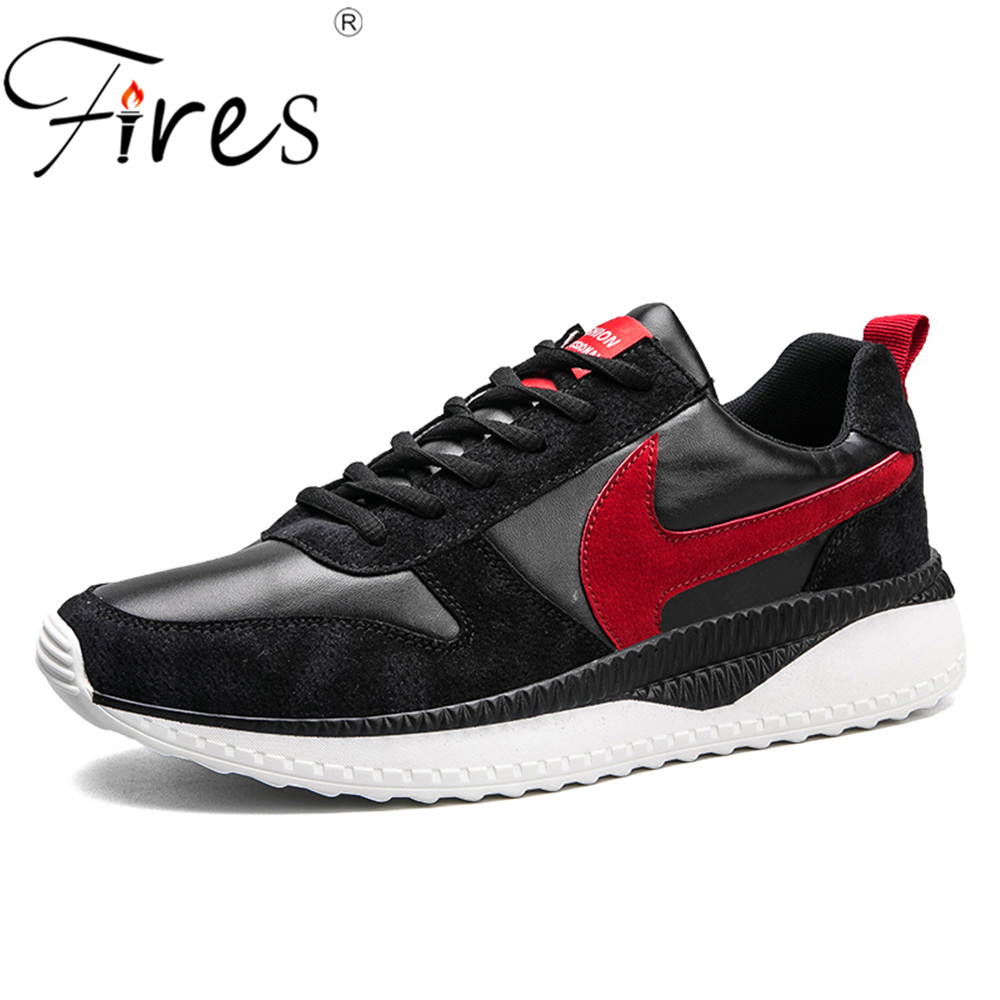 Fires Mens Sports Shoes Outdoor sneakers For Men Running Shoes Winter and Spring Jogging Shoes Man Trending Brand Walking Shoes