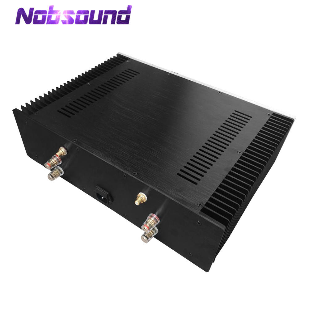 Nobsound Class A Power Amplifier Chassis Aluminum Enclosure DIY Case Box House nobsound hi end audio noise power filter ac line conditioner power purifier universal sockets full aluminum chassis