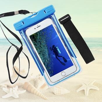 Universele Cover Droog Water proof Voor Asus zenfone max zc550kl 2 ze551ml 5 Waterproof Case Mobiele Telefoon Pouch Duiken Mobile Pocket