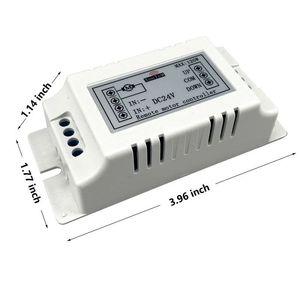 Image 3 - Kablosuz uzaktan kumanda anahtarı 433 mhz rf verici alıcı 18 v 24 v motor Ileri + Ters Dur direksiyon Denetleyici modülü