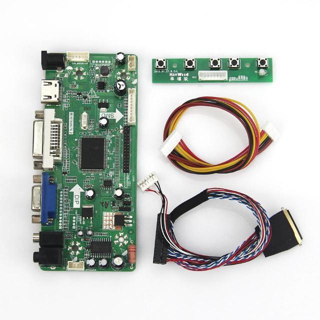 М. NT68676 ЖК/LED Драйвер Контроллера Совета (HDMI + VGA + DVI + Аудио) LVDS Монитор использовать Ноутбук 1920*1080 Для LP173WF1 HSD173PUW1-A00