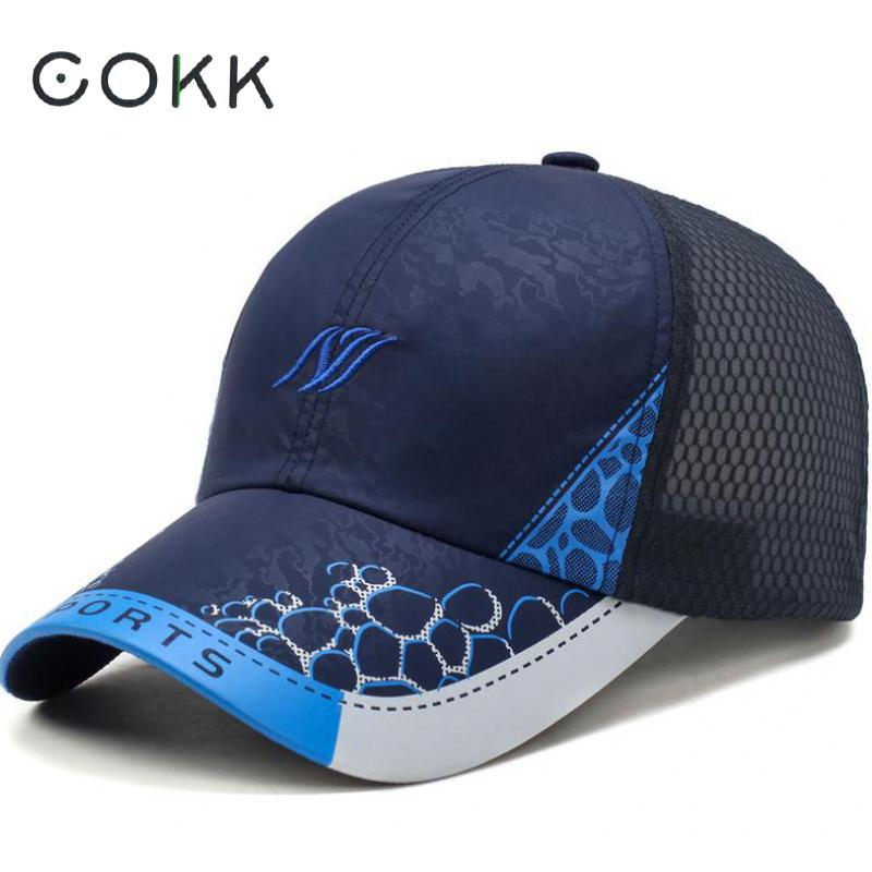 Summer Baseball Cap Men Women Lightweight Breathable Quick-Drying Mesh Cap Climbing Sun Visor Hat Snapback