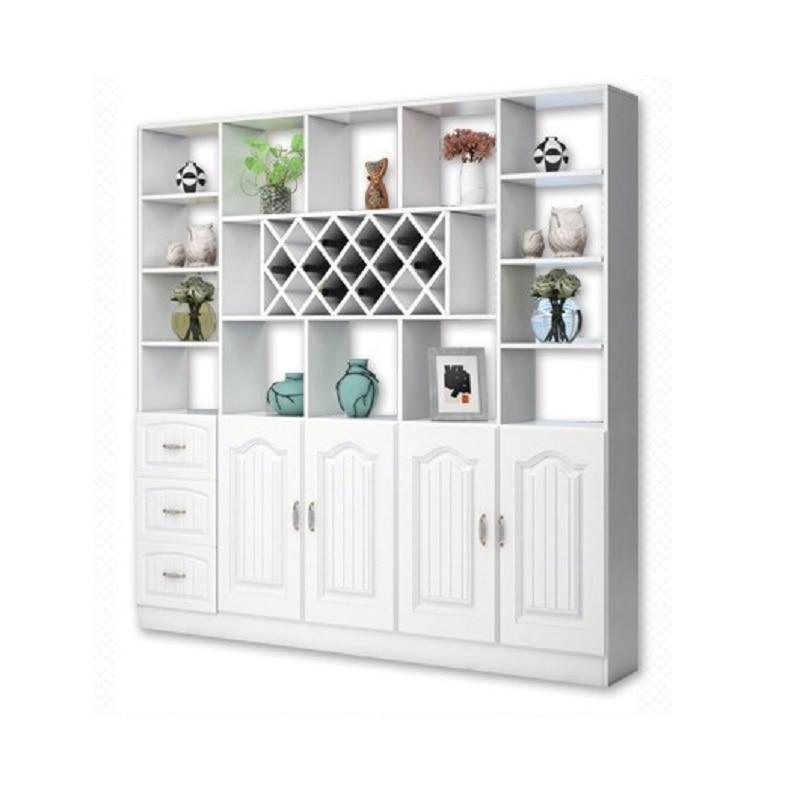 Mobili Per La Casa Display Gabinete Meja Kitchen Cristaleira Rack Mobilya Desk Bar Commercial Furniture Shelf wine Cabinet