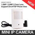 HD H.264 720 P 1080 P Cámara IP HD Estilo PIR Wired IP cámara 1.0MP 2.0MP Cámara de Red P2P Nube Onvif Seguridad Ver Teléfono