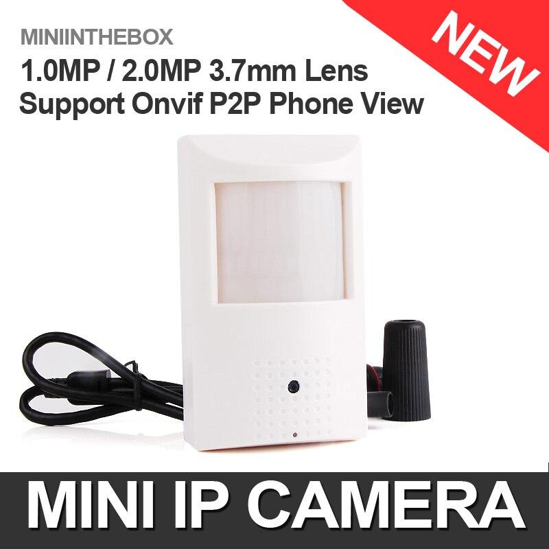 imágenes para HD H.264 720 P 1080 P Cámara IP HD Estilo PIR Wired IP cámara 1.0MP 2.0MP Cámara de Red P2P Nube Onvif Seguridad Ver Teléfono