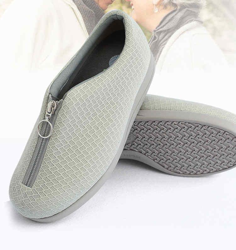pies hinchados ancianos verano