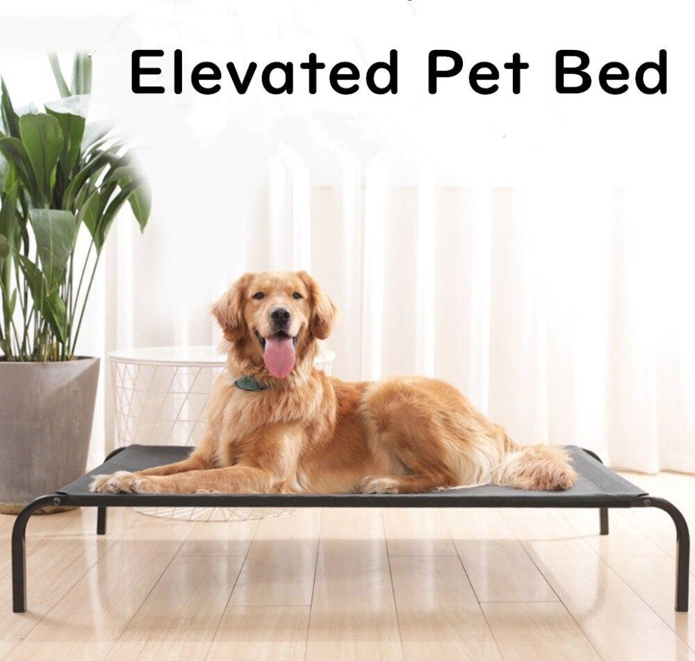 Lit pour chien-à mâcher-noyer PVC-lit pour animaux d'intérieur-tissu Cordura
