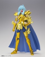 free shipping In Stock LC New Saint Seiya EX Model Pisces Aphrodite Gold Cloth Anime Action Figure Comics Collection Kids Toys