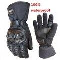 2014 Motorcycle Gloves Winter Warm Waterproof Windproof Protective Gloves 100% Waterproof Free Shipping Luvas KNIGHT