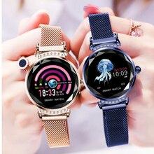 Купить с кэшбэком CHKEPZ H2 Smart Bracelet female 2019 Sport Smart Watch For Women Blood Pressure Fitness sleep tracker smart watch for ladies