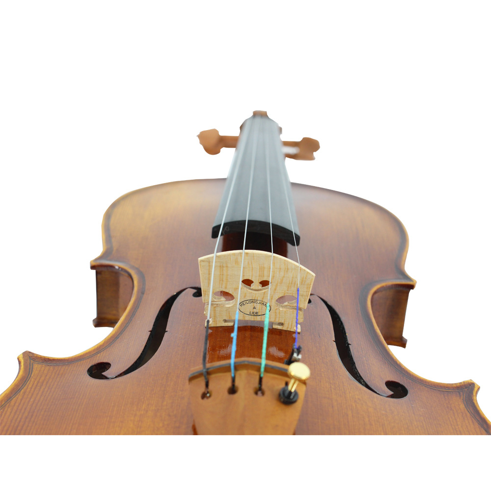 Natural Violin Jujube wood Maple Pinus Arbor Bow for Beginners with case