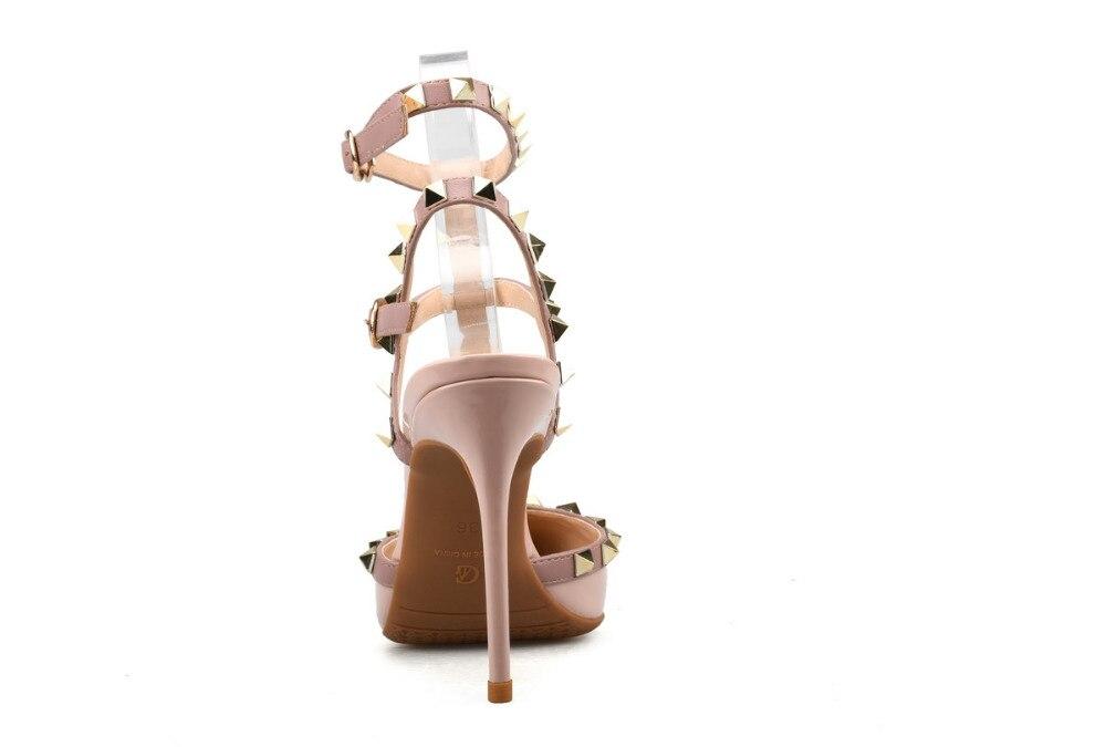 Xiangxuerou En verano, nuevas puntas de sauce ahuecadas de charol y - Zapatos de mujer - foto 4