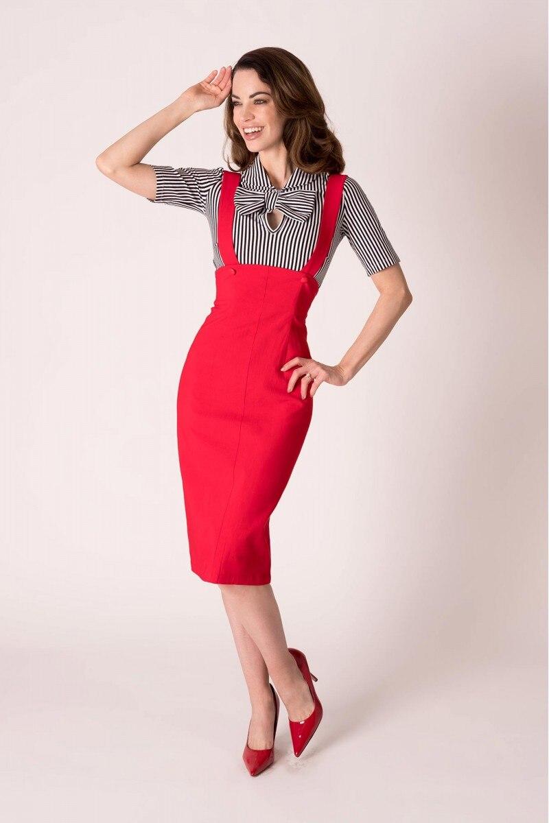 0be156e3869 Aliexpress.com   Buy 40 women vintage 50s pinup high waist jumper ...