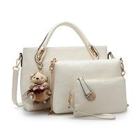 Marka Moda kadınlar Crossbody çanta üç adet set çanta kadın haberci çantası bayan çanta kadın omuz çantaları