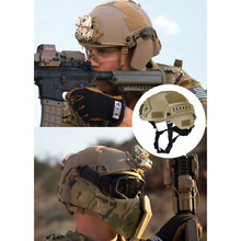 Military Tactical Helmet Airsoft Gear Paintball Head Protector with Night Vision Sport Camera Mount FK88