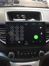 10 «Android 8,0 Восьмиядерный Автомобильный gps Навигация стерео для Honda CRV 2012-2015 радио плеер блок