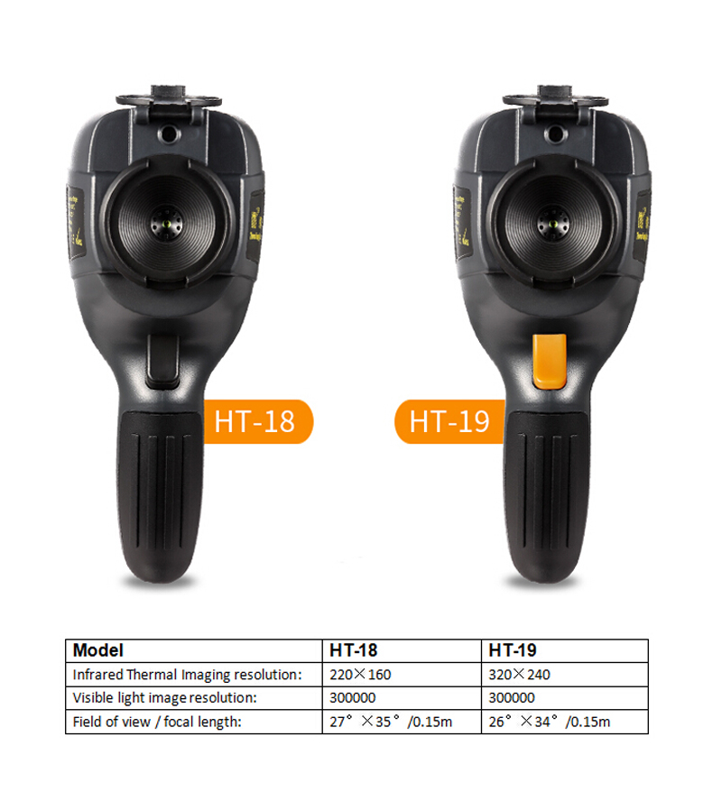 New HT-19 Thermal Imaging Camera With Screen Display For Overhaul and Outdoor 9