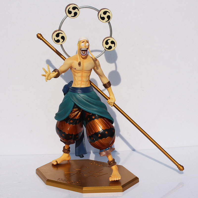 Cool 12 One Piece Enel Figures P.O.P God of Skypiea Enel Eneru PVC Action Figure Collection Model Toys Gift kunai one piece machine xp3 16rt 12