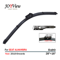 S490 28 16 FRONT WIPER 14G REAR WIPER BLADE FIT FOR SEAT ALHAMBRA 10 SIZE