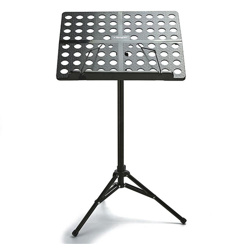 Colourful Sheet Folding Music Stand Aluminum Alloy Bass Guitar Musical Instruments Tripod Stand Holder with Carrying Bag aluminium alloy professional fl 05r foldable small music stand musical instrument with double quilted carry bag 4 colors