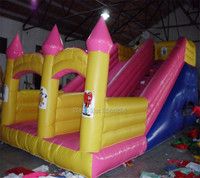 Popular inflatable bouncer slide castle theme inflatable slide on sale