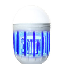 Free Shipping !!! LED Bulb E27 15W Anti-Mosquito Insect Zapper Flying Moths Killer Light lamp