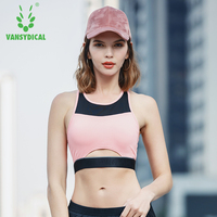 2018 Women Sexy Sport Bra Top Sports Bra Women Push Up Running Gym Fitness Yoga Bra Athletic Workout Bras free shipping