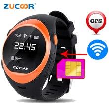 S888 2G Tarjeta SIM Reloj Inteligente Smartwatch SOS de Llamada De Emergencia GPS + LBS Deporte Wifi Reloj Inteligente Para El Viejo Hombre Niños Niños