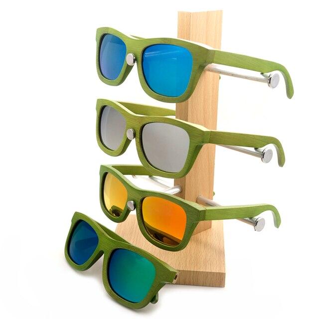 Ballaja Eco-Friendly Wooden Sunglasses by K-OBA Eye-wear