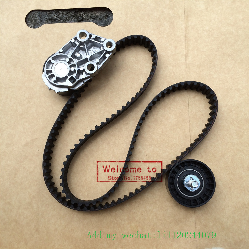 Timing Belt Kit Tensioner For Chevy Optra Lacetti Chevrolet Aveo 1.6 L DOHC E-TEC II 16V Genuine OEM 93744703 цены