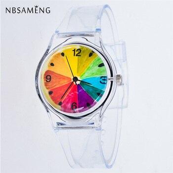 Reloj Mujer Transparente 14