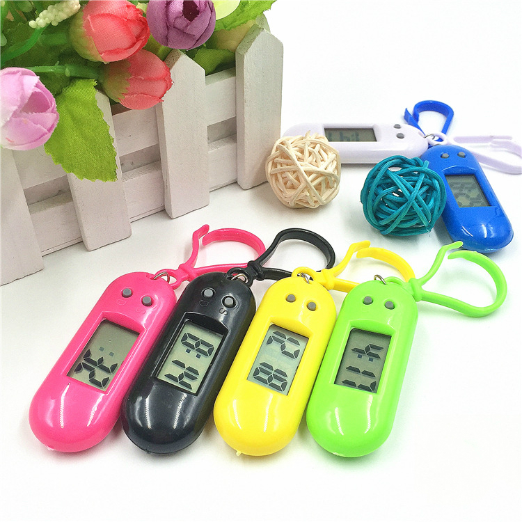 Student Keychain Kids Watches Promotion Gift Backpack Key Children Electronic Watch Examination Small Hanging Clcok Child Watch
