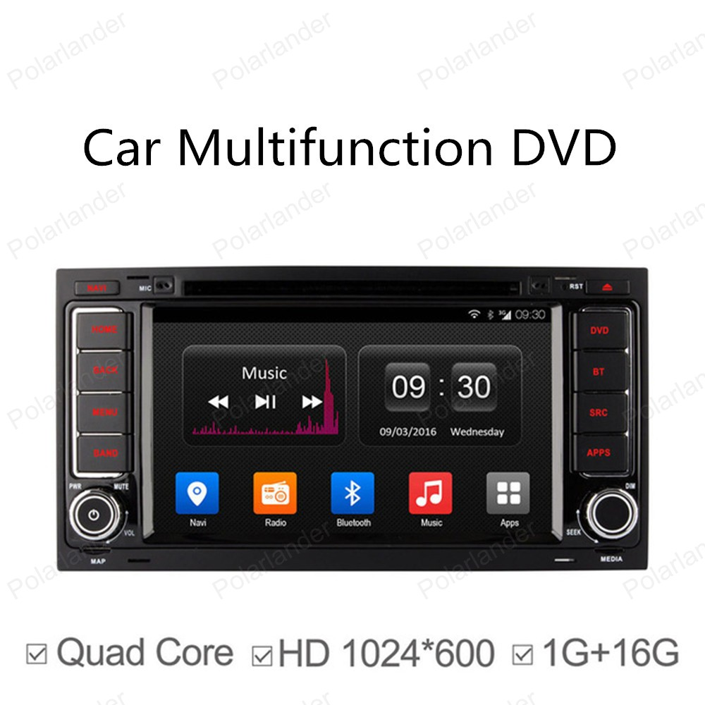 2 Din Android 4.4 Full Touch Panel for Volkswagen touareg GPS Navigation Car dvd Radio Player Quad Core mirror wifi 3G
