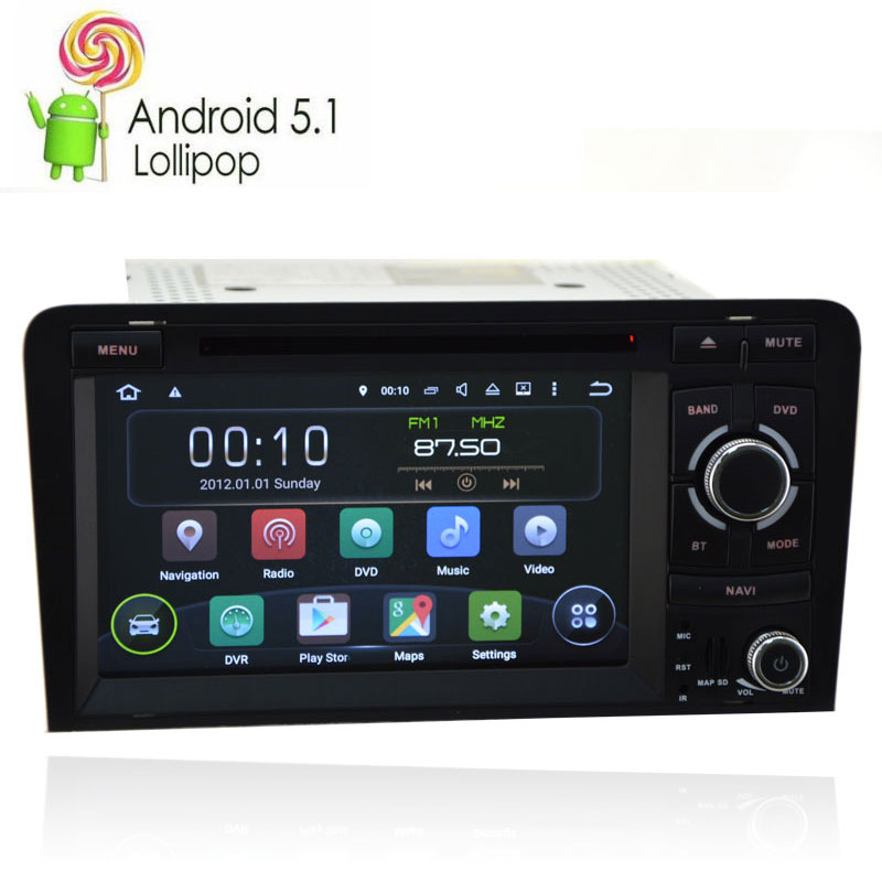 Autoradio In Car Multimedia Android 9 OS GPS For Audi A3 S3 2003 2011 Radio DVD Player Navigation System Car Stereo Head Unit|navigation system|gps for audi a3multimedia gps - title=