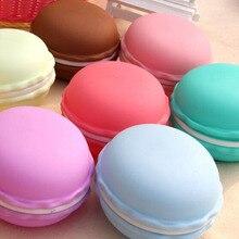 Macaron big size 10*10*5cm storage box Candy color mini teddy organizer jewelry caixa organizadora Gift Novelty HG006