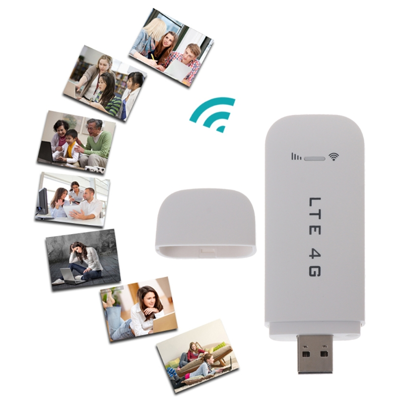 все цены на 4G LTE USB Modem Network Adapter With WiFi Hotspot SIM Card 4G Wireless Router