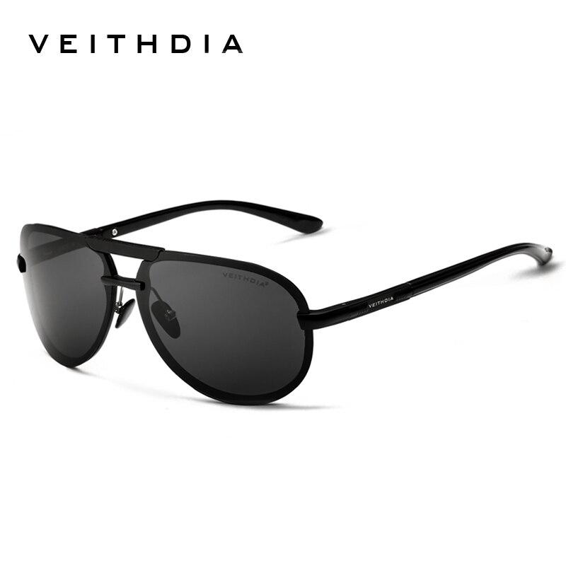 VEITHDIA ÓCULOS de Marca óculos de Sol dos homens Polarizados Óculos de Sol  de Alumínio Masculinos Eyewears Acessórios Para Homens oculos de sol  masculino ... e21e4b1546